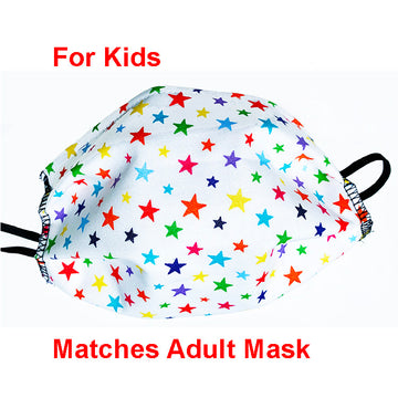 Rainbow Stars Mask for Kids