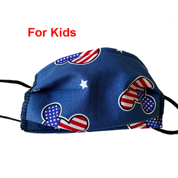 Patriotic Mickey Mask for Kids