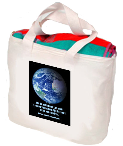 We Do Not Inherit The Earth Tote
