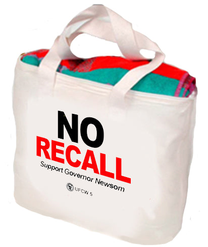 No Recall Support Governor Newsom Tote
