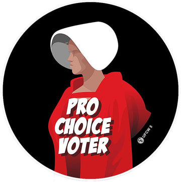 Pro Choice Voter Pin