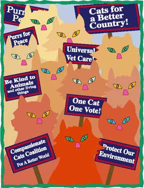 Cats For A Better Country Tote