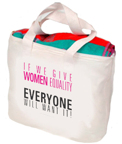 If We Give Women Equality Tote