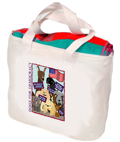 Dogs For Democracy Tote