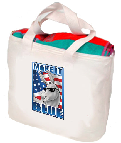 Make It Blue Tote