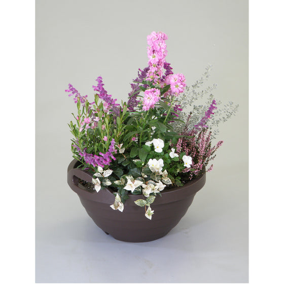 A380 Ball Pot [Brown] - Garden Pots & Plant Pots Singapore