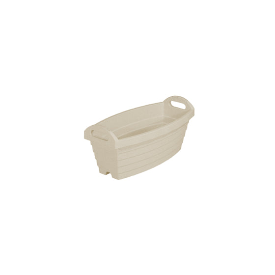 A500 Slim Barrel Pot [Ivory] - Garden Pots & Plant Pots Singapore