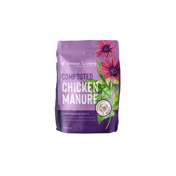 Chicken Manure by O' Green Living - Organic Fertilizer, Gardening Supplies Singapore