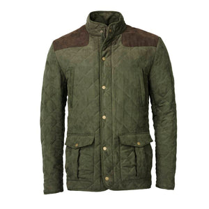 Hampton Quilted Jacket - olive