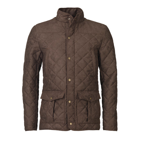 Hampton Quilted Jacket - brown