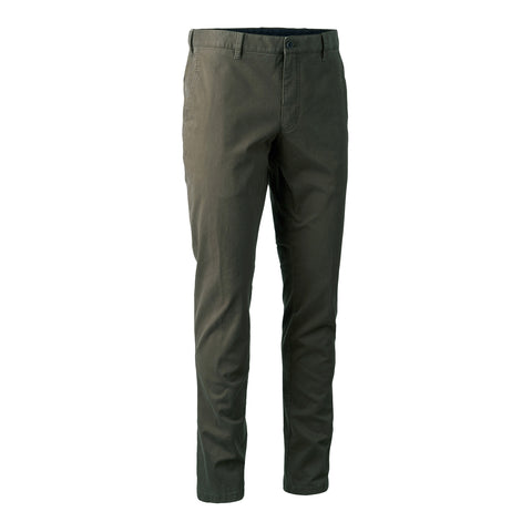 Casual Trousers - brown leaf