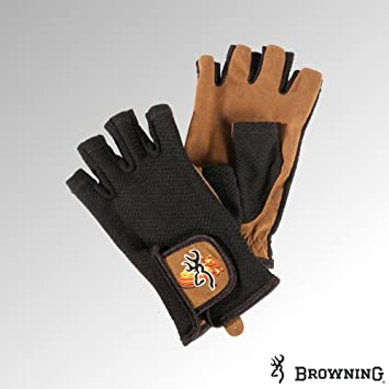 Mesh Back Shooting Gloves