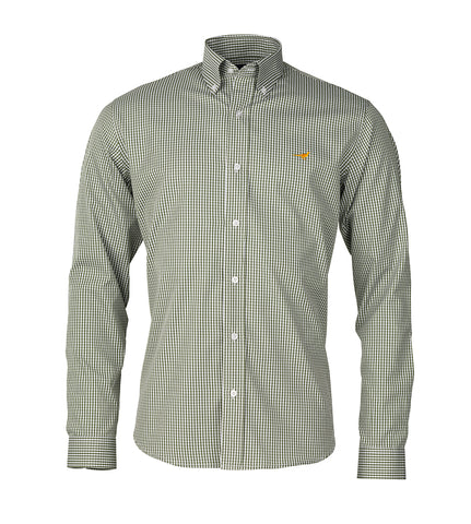 Warwick Shirt - plantation green