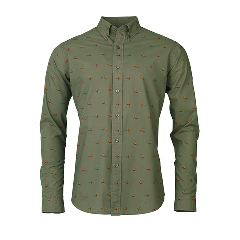 Flush Shirt - dusty green