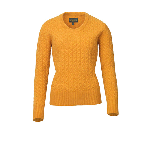 Burleigh Cable Knit Sweater - gorsy