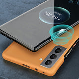Slim Colorful Hard PC Frameless Case For Samsung Galaxy S21 Ultra 5G