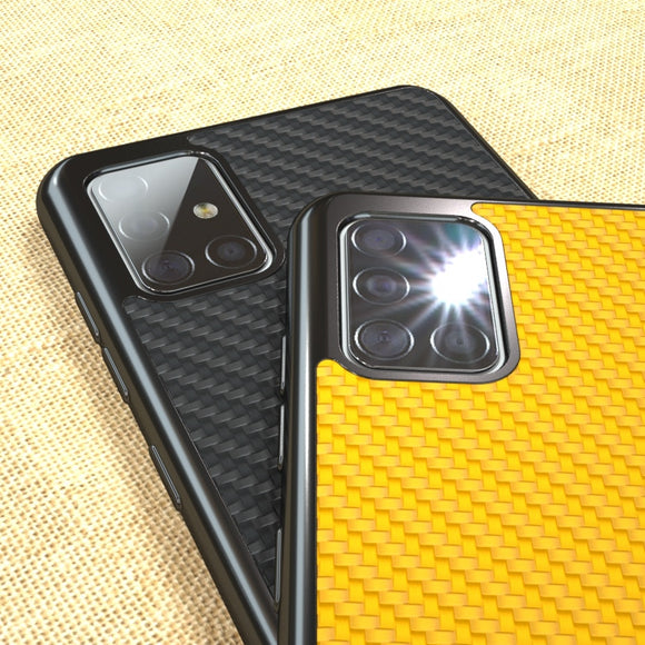 Soft Silicone TPU Frame Classic Weave Case For Samsung Galaxy S20 Ultra 1