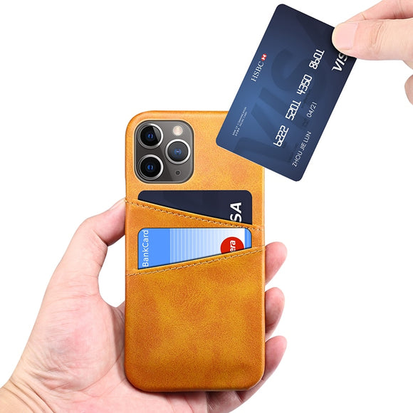 Luxury Retro Cardholder PU Leather Wallet Style Case For iPhone 12 11 Pro Max