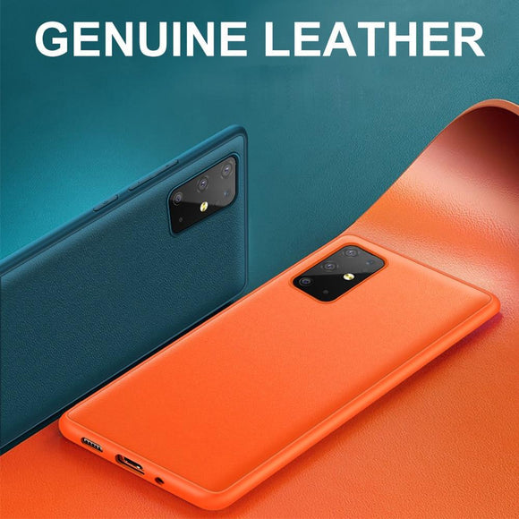 Original Genuine Leather Back Case for Samsung Galaxy S20