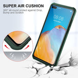 Soft Edge Full Protective Airbag Bumper Luxury Clear Shockproof Case For Huawei P40 Series
