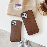 Street Trend Travis Scot Basketball Soft Leather Phone Case for iPhone 12 11 XS Series
