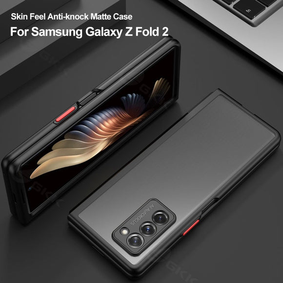 Simple Bumper Translucent Anti shock Ultra thin Matte Case For Samsung Galaxy Z Fold 2 5G