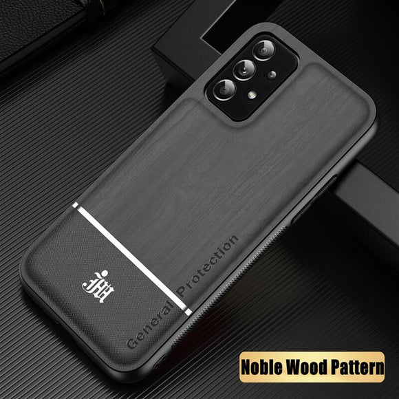 Wood Pattern Silicone Case For Samsung Galaxy S21 S20 Note 20 Note 10 Series