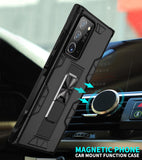 Armor Case with Magnetic Holder & Finger Ring Back Cover Case for Samsung S20 & Note 20 Series