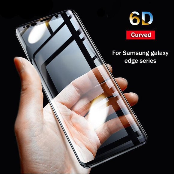 6D curved full cover Screen Protector For Samsung galaxy Note 8 S8 S9 Plus