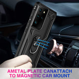 Drop Tested Protective Kickstand Magnetic Car Mount Case for Galaxy S21 Ultra 5G