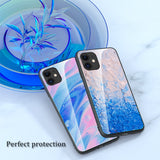 Camera Protection Shockproof Transparent Marble Phone Case For iPhone 11 & 12 Series