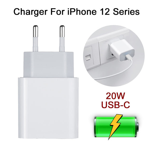 20W Fast Charging USB Type C Phone Charger