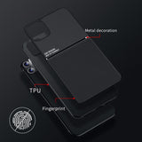 Brand new Design Ultra Thin Car Magetic Soft Cover Case for iPhone 11 Pro Max X XR XS Max