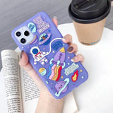 Cute Cartoon Creativity Soft Back Cover Full protection Case for iPhone 11 Series