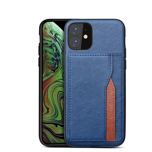 Multi Card Wallet Retro PU Leather Case For iPhone 11 Pro MAX X XS MAX XR