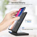5V/2A Wireless Charging Dock For Samsung Galaxy S8 S7 S10 Note 8 9 Qi iPhone X 8 XS MAX