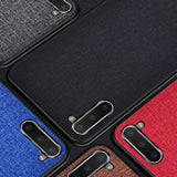 Fabric Cloth Case For Samsung Galaxy Note 10 Note 10 Plus