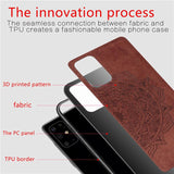 3D Luxury Cloth Protective Phone Case For Samsung Galaxy S20 S20 Plus S20 Ultr