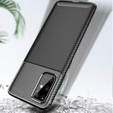 Luxury Carbon Fiber Cover Shockproof Phone Case For Samsung Galaxy S20 Series