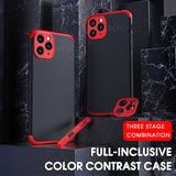 Ultra Thin Full Protection Waterproof Hard Matte Case For iPhone 11 Series