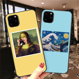 Luxury Fashion Cartoon Art Characters Printed Shockproof Case For iPhone 11 Series