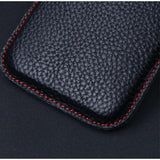 Handmade Luxury Genuine Cow Leather Protective Bag for Samsung Galaxy Fold