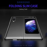 Folding Ultra-thin Flip Matte Hard PC Anti knock Full Protection Cover Case For Samsung Galaxy Fold