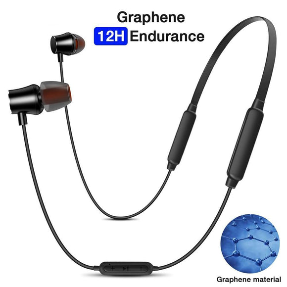 Q6 Bluetooth Wireless Earphone Headphones with MIC Earbuds Stereo