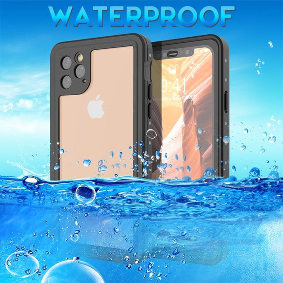 Shockproof Underwater Case Outdoor Sport Waterproof Dustproof Diving Cover for iPhone 11 11 Pro 11 Pro Max
