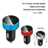 Smart Car Charger 2 USB DUAL Ports For Tablet, iPhone, Samsung galaxy