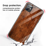 Luxury Tempered Glass Grain Protective Case For iPhone 11 Pro Max