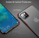 Frameless Design With Ring Phone Case For iPhone 11 11 Pro 11 Pro Max