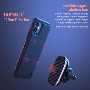 Wireless Charger Receiver Magnetic case for iPhone 11 Series