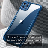 Transparent Protective Shockproof Fitted Case For iPhone 12 Series